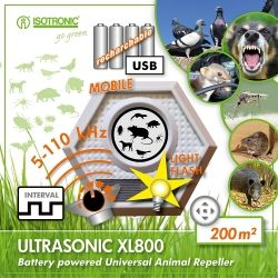 Aparat anti daunatori Ultrasonic XL 800