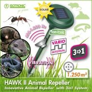 Dispozitiv Solar anti daunatori 3 in 1 Hawk II 70049